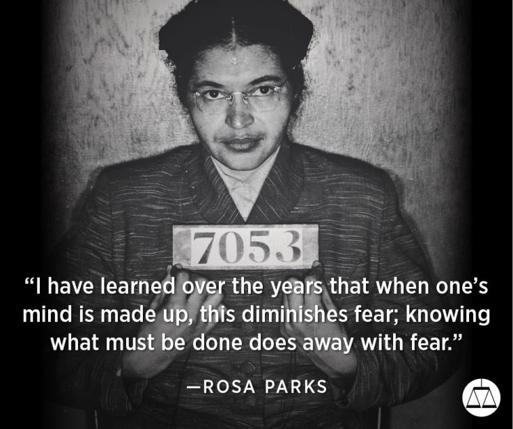 Rosa Parks, Image from the Southern Poverty Law Center